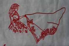 Guimarães folk embroidery.