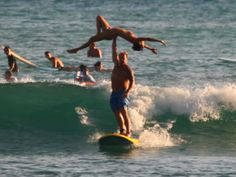 Up for some real adventure?  Learn to Tandem Surf while visiting Hawaii.  www.experiencehawaii.com