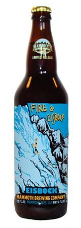 Fire & Eisbock - Good, but just not my favorite Mammoth. Although this is possibly my favorite Mammoth bottle.