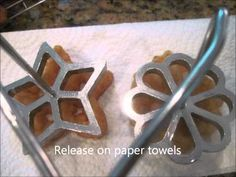 ▶ Rosette Cookies from Sheilah's Kithchen - YouTube