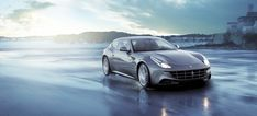 Ferrari FF: the most versatile car ever produced by the Prancing Horse, and a truly great family car! Four seats, two doors. The two back seats can be put down in the back to safely load and transport things like lumber, dogs, or kayaks.