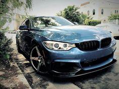 BMW F30 3 series blue