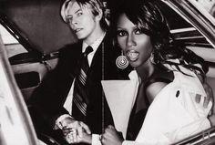 David Bowie et Iman