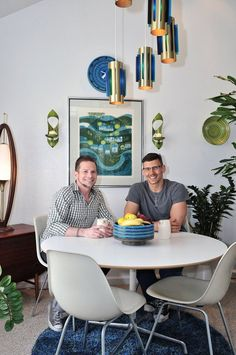 Robert & Michael's Midcentury Pad House Tour