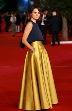 Kasia Smutniak Photos: Stars at the Rome Film Festival (Red Carpet Fashion)