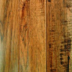 Mullican Flooring�Mullican 4-in W Hickory 3/4-in Solid Hardwood Flooring lowes 5.29 SADDLE HICKORY