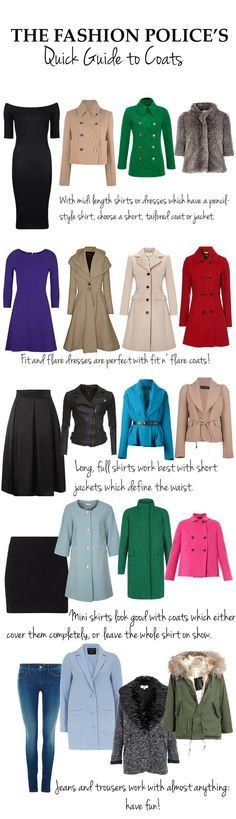 The Fashion Police's quick guide to coats and what to wear with them