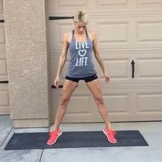 No Equipment Inner Thigh & Leg Workout! double tap & tag your partner perform 12 reps each exercise for a total of 5 sets!
