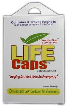 Life caps survival pill