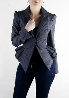 Adelle Jacket by Laura Galic