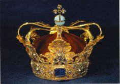 Crown Jewels of Denmark - The King's Crown - Collection housed at Rosenborg Castle.