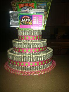 Money cake, best cake ever! #birthday #family #friends