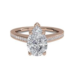 47 Pear-Shaped Engagement Rings for Every Bride