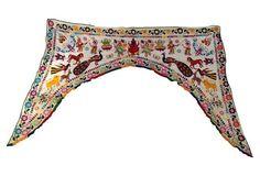 Indian Embroidered Valance w/ Ganesha