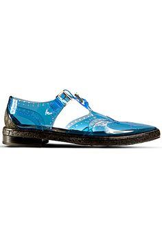Galliano-This necessitates toe nail polish