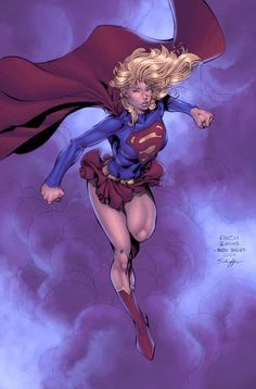 Supergirl by David Finch