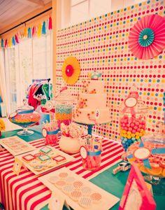 Alice no País das Maravilhas-aniversário-festa-sobremesa de mesa