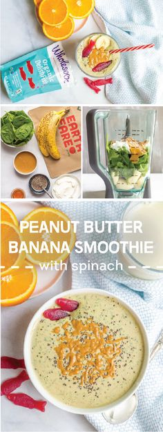 Calling all smoothie lovers! Blend together healthy, fresh, and good-for-you ingredients to create this recipe for Peanut Butter Banana Smoothie with Spinach. And when topped with Wholesome Organic DelishFish, this sweet creation will appeal to your kiddos thanks to the fun presentation and tasty flavors. Stop by a store near you to pick up the ingredients you'll need to make this sippable snack for your family.