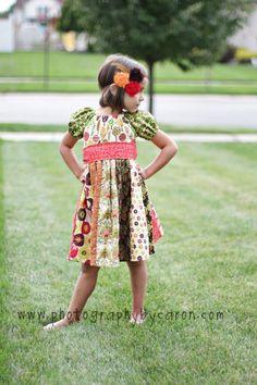 Jewel's Stripwork Dress PDF Pattern Now size by CreateKidsCouture, $10.00