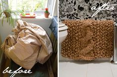reuse old sheets