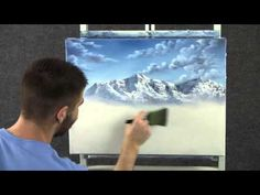 Paint with Kevin Hill - Lake in the Mountains - YouTube