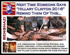 Hillary Clinton insists that if anyone is lying about the aftermath of the 2012 Benghazi Islamic terror attacks that left four Americans dead, it's 'not me, that's all I can tell …