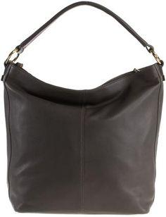 Adax lædertaske til kvinder. Taske i den her stil (læder, simpelt design, gerne med synlige syninger)