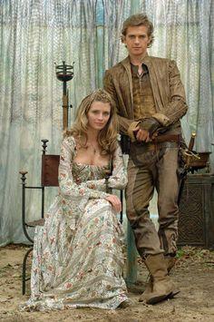 Misha Barton and Hayden Christensen as Pampinea Anastargi and Lorenzo de Lamberti from the film Virgin Territory.