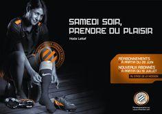 """Samedi soir, prendre du plaisir"" #MHSC 2012 #HodaLattaf"
