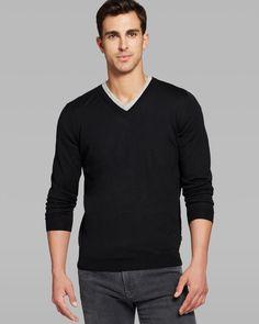 Boss Hugo Boss Melba V-Neck Sweater