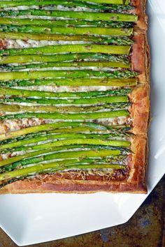 asparagus + gruyere