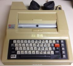 005 Panasonic Personal Word Processor KXW1500 (1988). I used