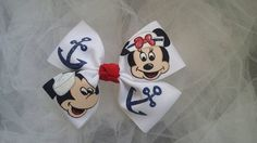 Boutique Mickey and Minnie Sailor by HugsnKissesBoutique on Etsy