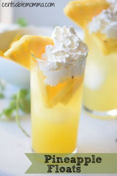 Create this fun pineapple float recipe for family night. They're delicious with a nice mix of sweet and sour.