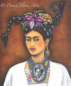 frida kahlo prints | Frida Kahlo Print by DavidFloresArte on Etsy, ...