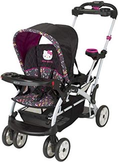 Baby Trend Sit N Stand Ultra Stroller, Hello Kitty Pin Wheel. This Sit N' Stand Ultra Stroller has all of the great features of the Original Sit N' Stand, but with the versatility of accepting infant car seats in both the front and rear seating positions. Twin Strollers, Best Baby Strollers, Double Strollers, Baby Trend Car Seat, Baby Car Seats, Chat Hello Kitty, Best Double Stroller, Travel Stroller, Baby Gear