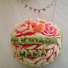 Sandia de cumpleaños by Art de Fruita