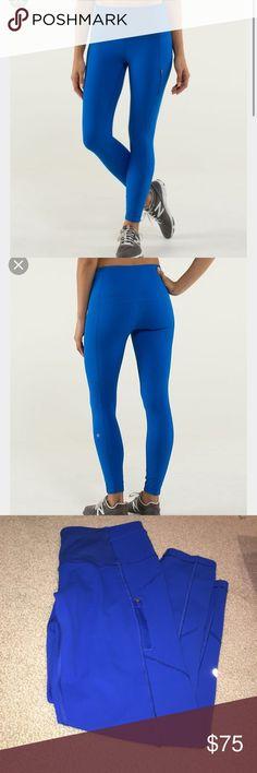Selling this Lululemon ice queen tights on Poshmark! My username is: rachelheimann. #shopmycloset #poshmark #fashion #shopping #style #forsale #lululemon athletica #Pants