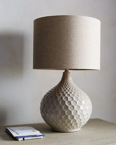 Classic and chic, this lamp features a stylish teardrop shape and contemporary finish. A versatile look that transcends many rooms and decors. The glass lamp base has a distressed matte finish. Topped with a round clear glass finial. Led Light Installation, Contemporary Table Lamps, Modern Table, Ceramic Table Lamps, Lamp Table, Table Lamps For Bedroom, Bedside Lamp, Nightstand, Lamp Design