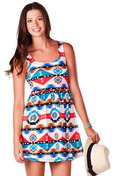 Pinehurst Tribal Dress