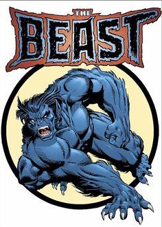 astonishingx:  Beast by Jim Lee