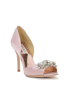 Giana evening shoes by Badgley Mischka, now available at the official website. Free shipping, exchanges, and returns.