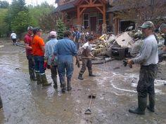 Ground zero bowness #yycflood pic.twitter.com/4hKI7kYRcD Hayley Wickenheiser, Ground Zeroes, Calgary, Weather, Twitter, Weather Crafts