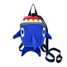 Buy Safety Kids Leash Backpack with 2 in 1 Harness Leash Lunch Boxes Carry Bag Cute Shark for Toddlers Boys Girls Little Playful Preschool –Blue … Big Shark, Cute Shark, Toddler Backpack, Kids Running, Kids Backpacks, Carry On Bag, Kids Bags, Child Safety, Toddler Boys