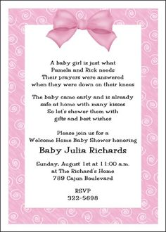 7 Best Welcome Home Baby Shower Images In 2014