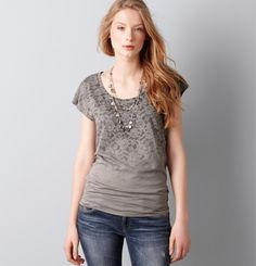 lace top - Ann Taylor by flora