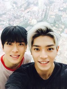 Taeyoung and Jaehyun in Vietnam