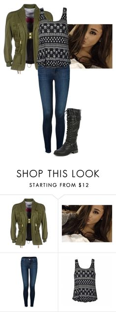 """""""Untitled #44"""" by mayaforever3 ❤ liked on Polyvore featuring Dsquared2, J Brand, Ally Fashion and Wild Diva"""