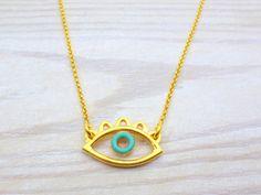 Evil Eye Jewelry, Evil Eye Necklace, Evil Eye Bracelet, Silver Necklaces, Handmade Necklaces, Gold Necklace, Jewelry Necklaces, Pendant Necklace, Evil Eye Ring