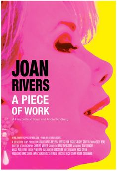 Joan Rivers: just saw it and I swear if I meet her I would cry after she made fun of me and then immediately laugh because it would be true and hilarious... :D